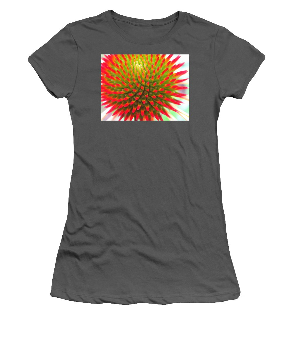 Floral Women's T-Shirt (Athletic Fit) featuring the photograph Vivid by Marla McFall