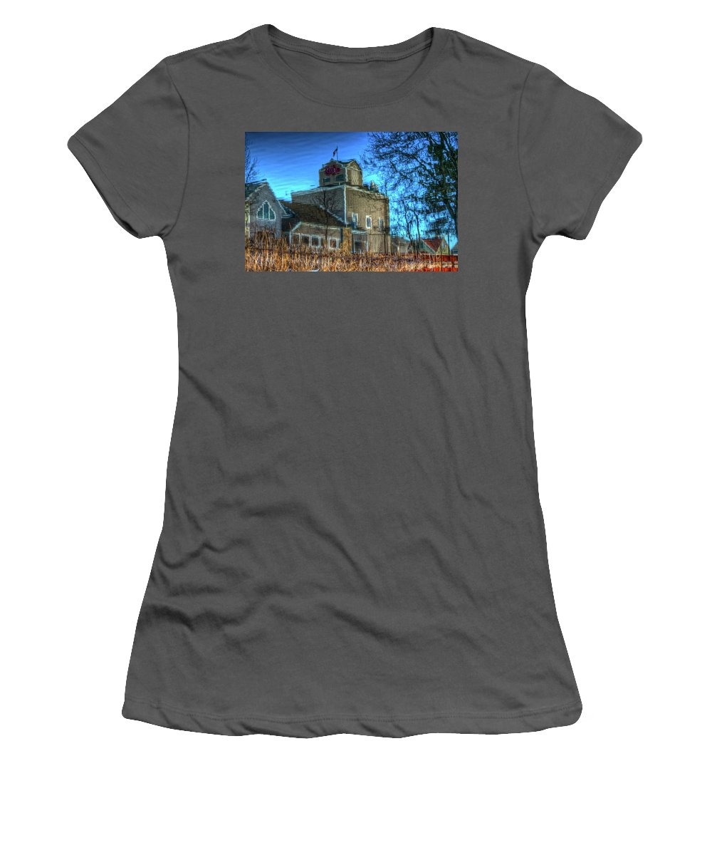 Reflection Women's T-Shirt (Athletic Fit) featuring the photograph Water Color-2 by Robert Pearson