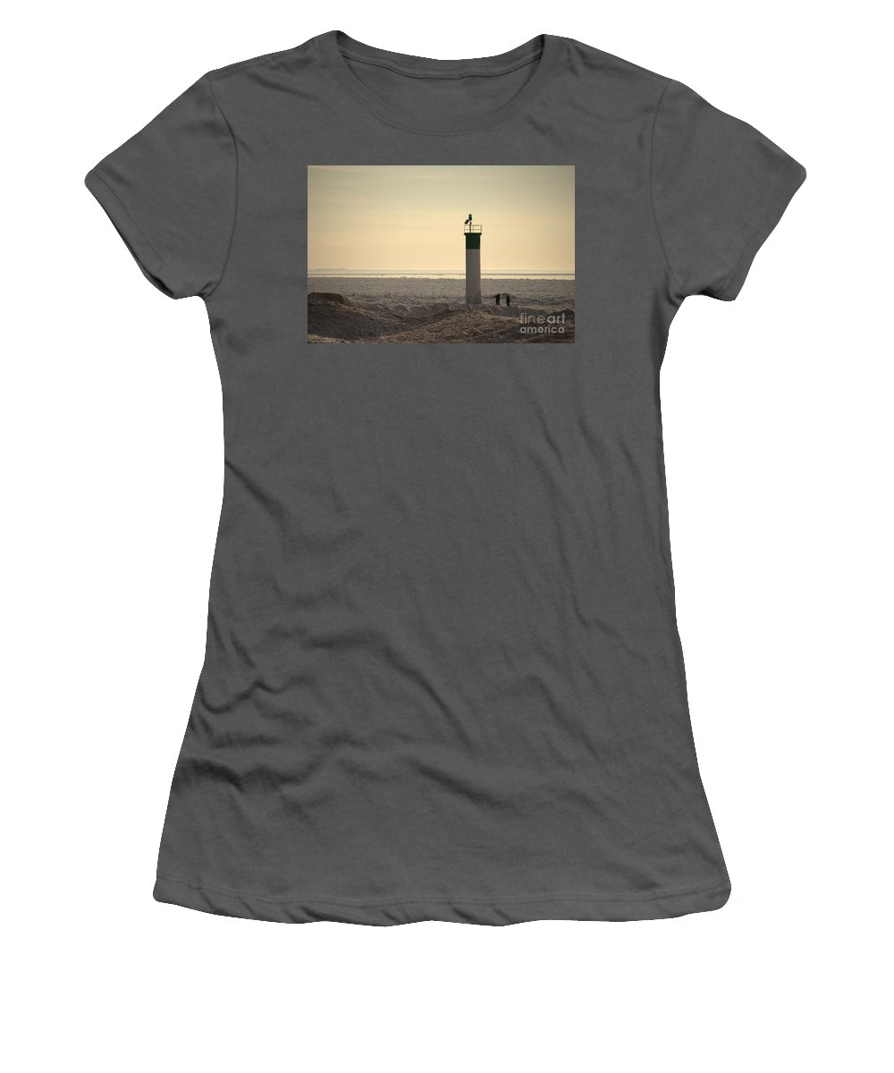 Grand Bend Women's T-Shirt (Athletic Fit) featuring the photograph We Are Surrounded by John Scatcherd