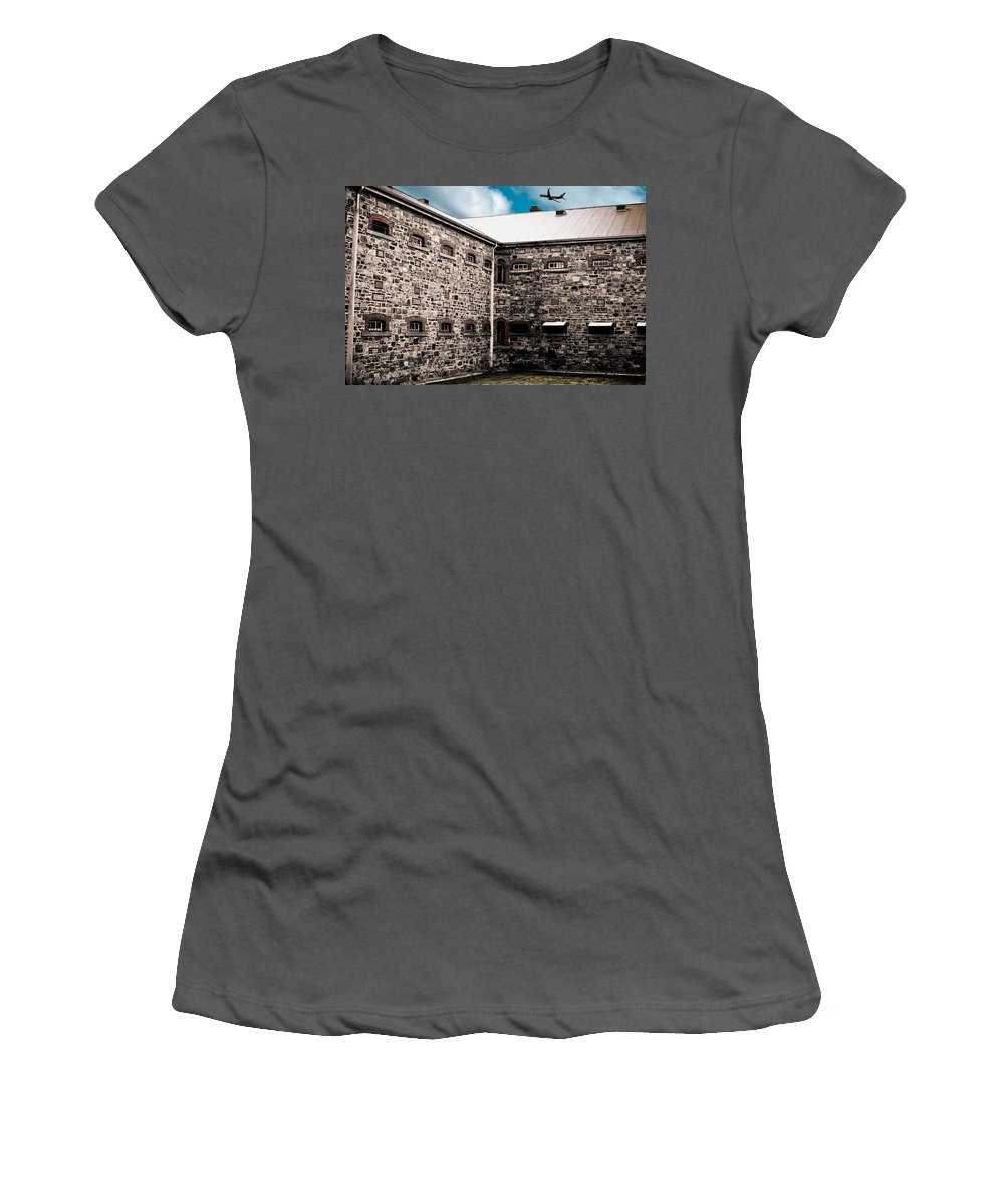 Freedom Women's T-Shirt (Athletic Fit) featuring the photograph What Freedom Means by Kelly Jade King