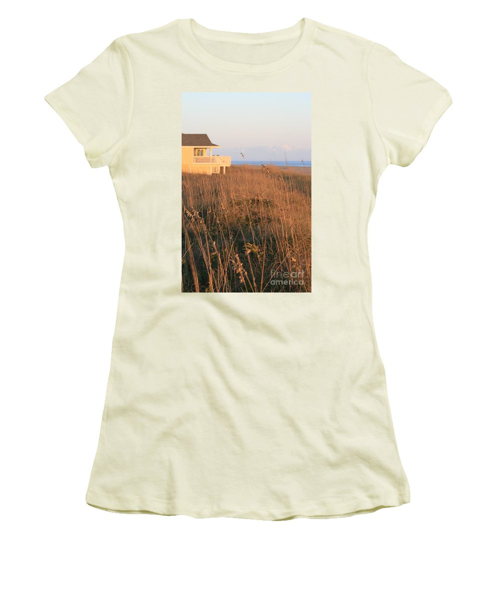 Relaxation Women's T-Shirt (Athletic Fit) featuring the photograph Relaxation by Nadine Rippelmeyer