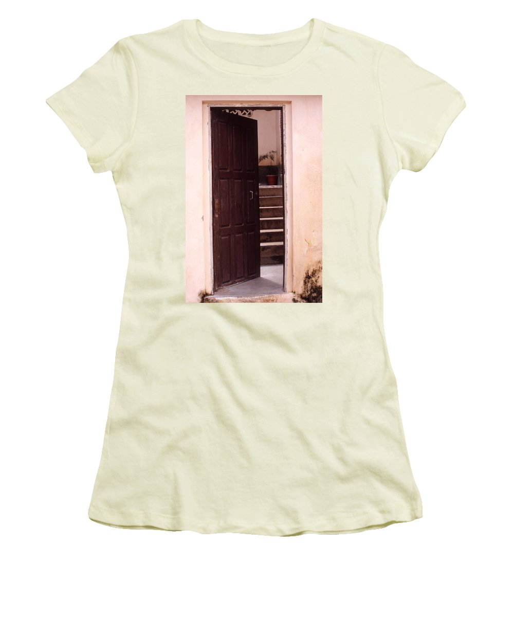 Bahia Women's T-Shirt (Athletic Fit) featuring the photograph Bahian Opening by Patrick Klauss