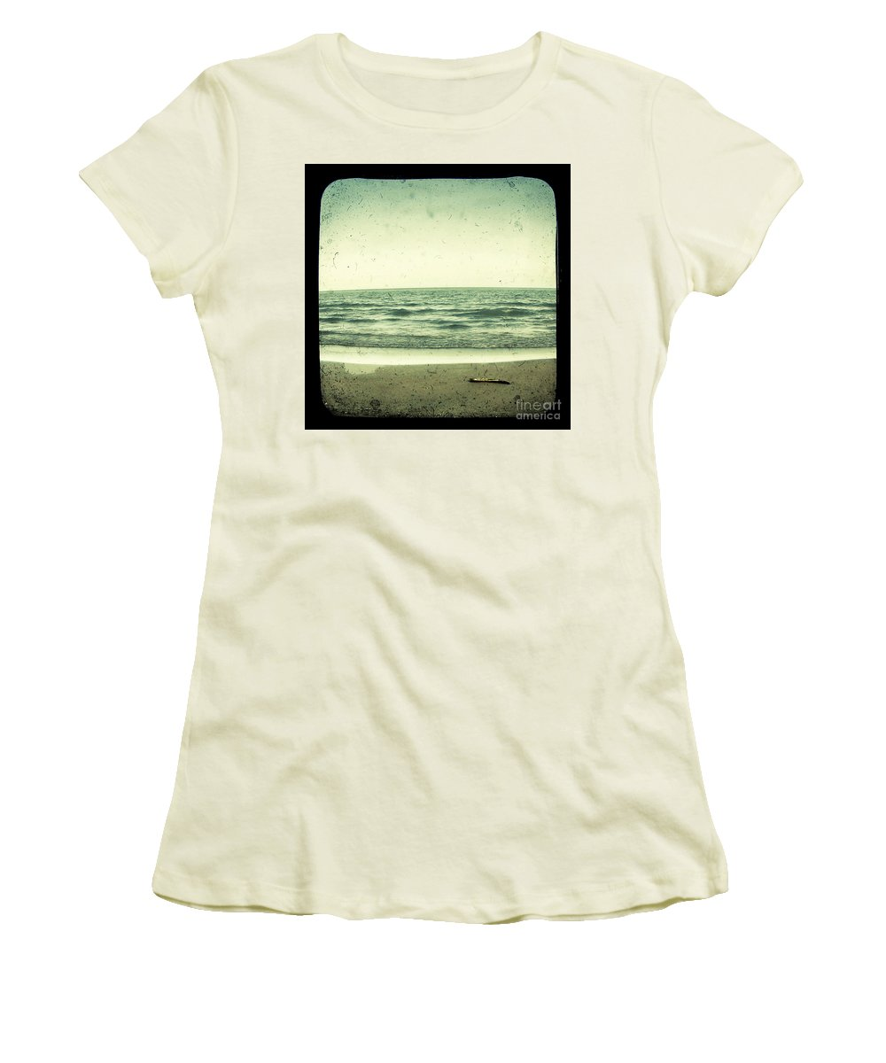 Ttv Women's T-Shirt (Athletic Fit) featuring the photograph Forget Yesterday by Dana DiPasquale