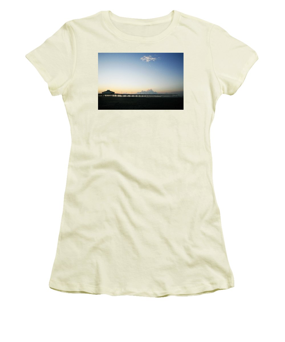 Water Women's T-Shirt (Athletic Fit) featuring the photograph Good Morning by Marilyn Hunt