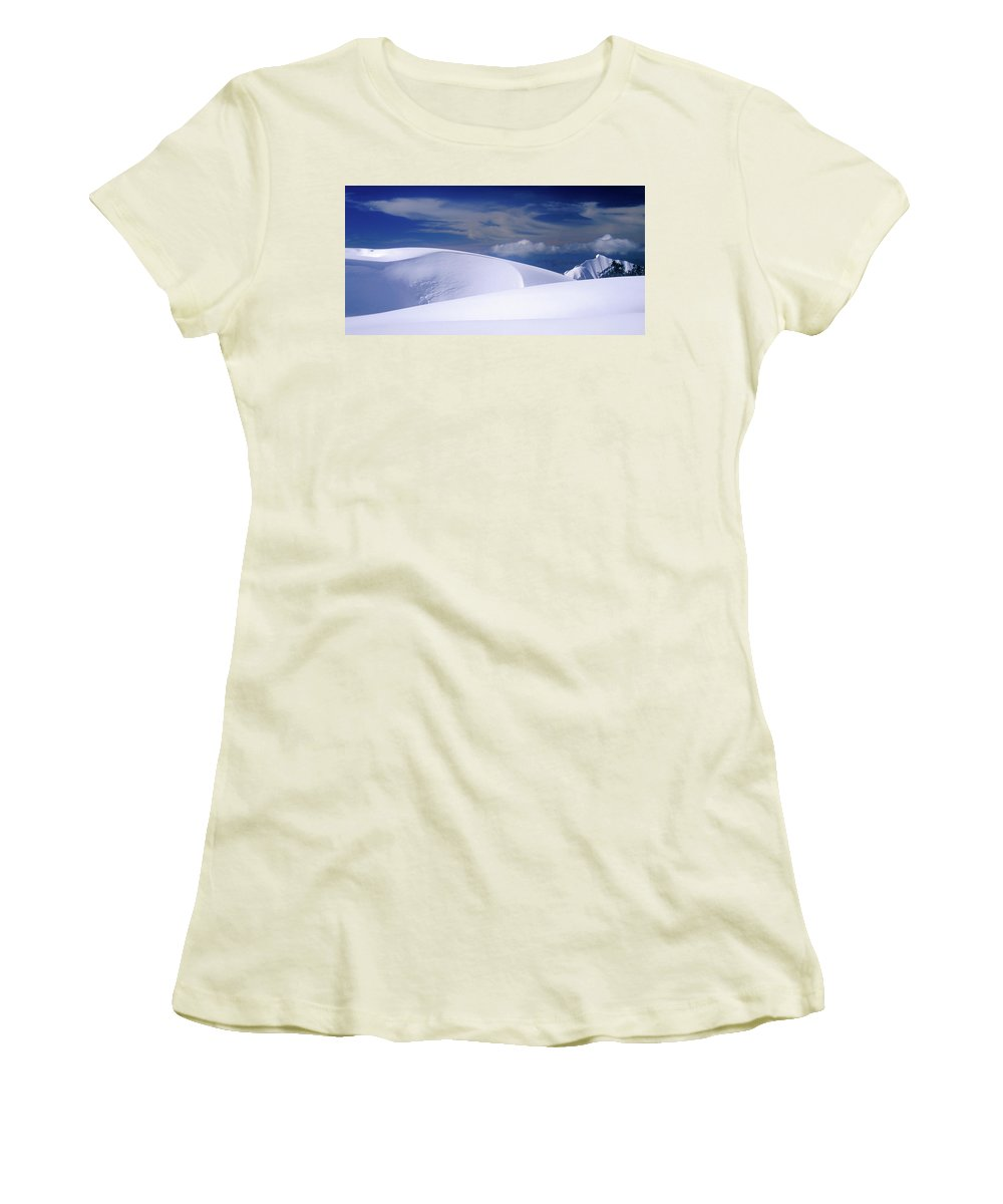 Alone Women's T-Shirt (Athletic Fit) featuring the photograph Harmony by Konstantin Dikovsky