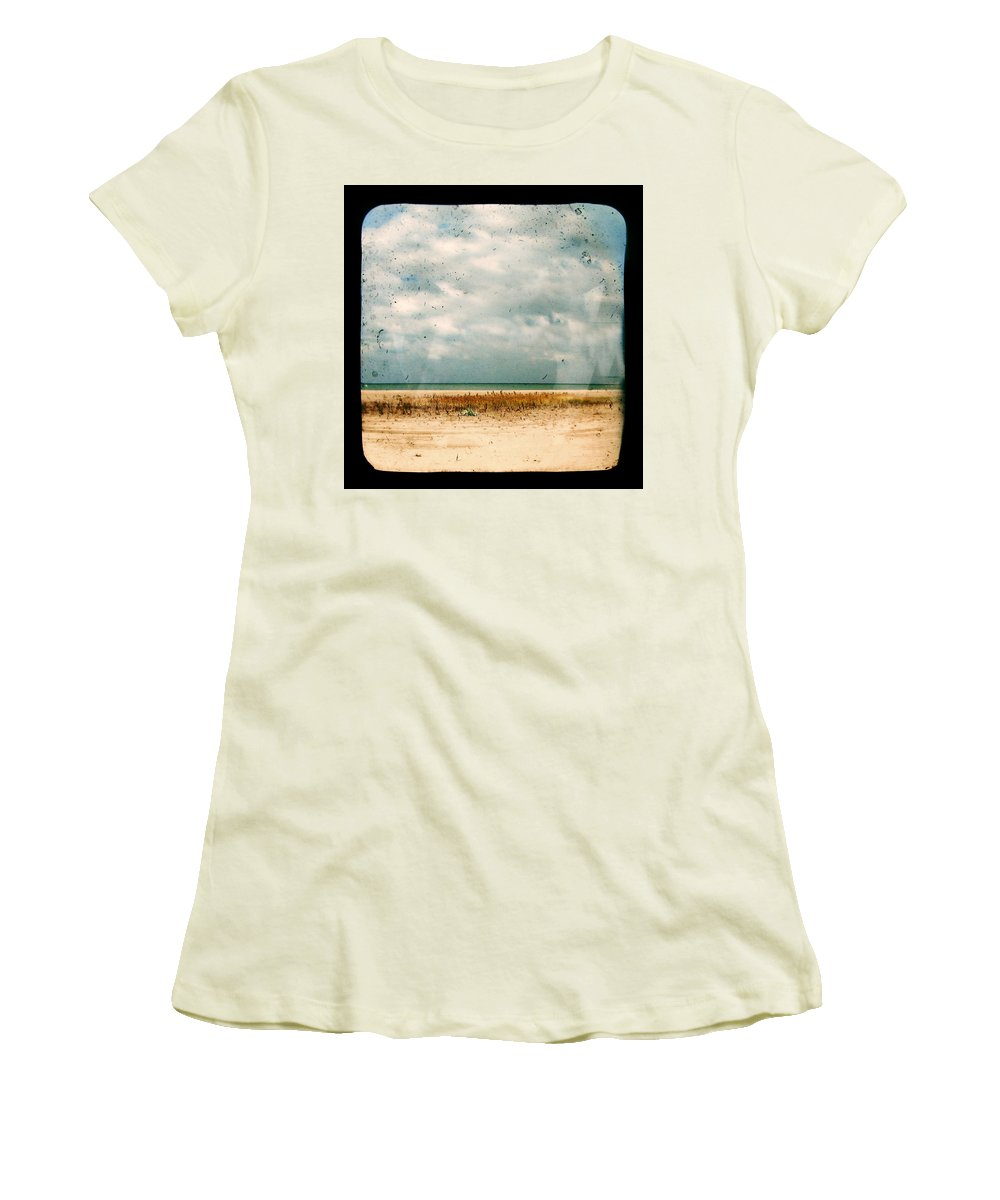 Dipasquale Women's T-Shirt (Athletic Fit) featuring the photograph I Honestly Believed by Dana DiPasquale