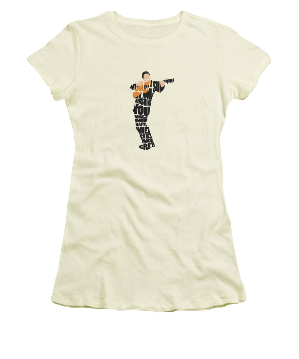 Johnny Cash Women's T-Shirts
