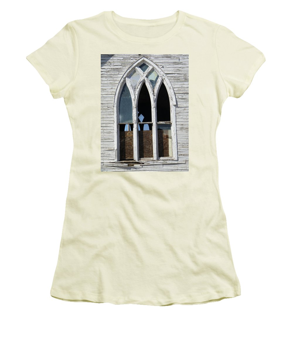Church Women's T-Shirt (Athletic Fit) featuring the photograph Lost by Gale Cochran-Smith