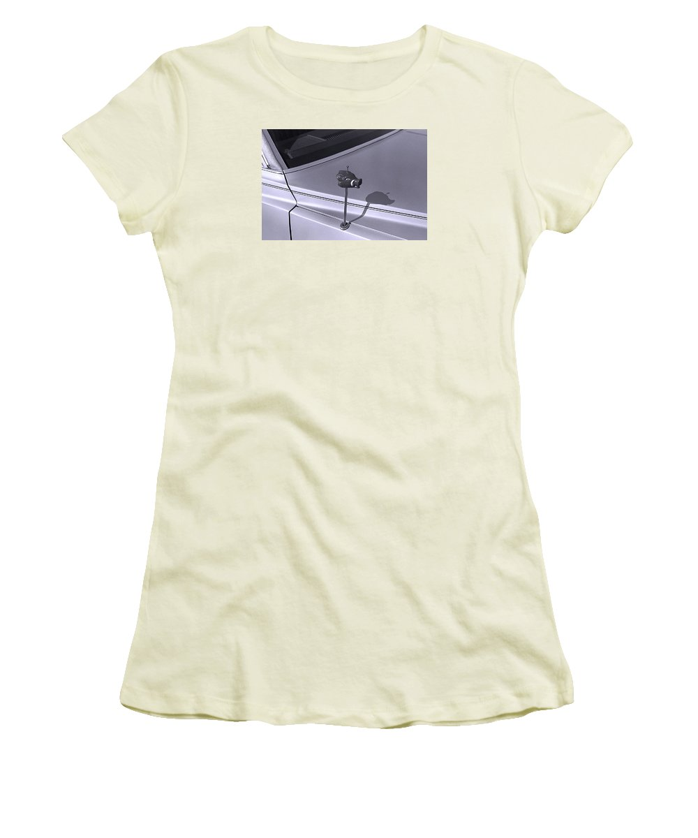 Primitive Women's T-Shirt (Athletic Fit) featuring the photograph Modern Primitive by Ted M Tubbs