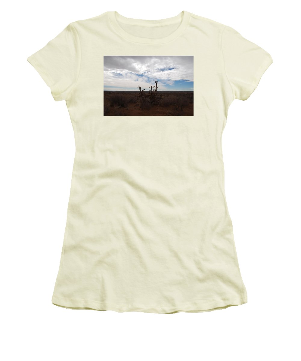 New Mexico Women's T-Shirt (Athletic Fit) featuring the photograph Rio Rancho New Mexico by Rob Hans