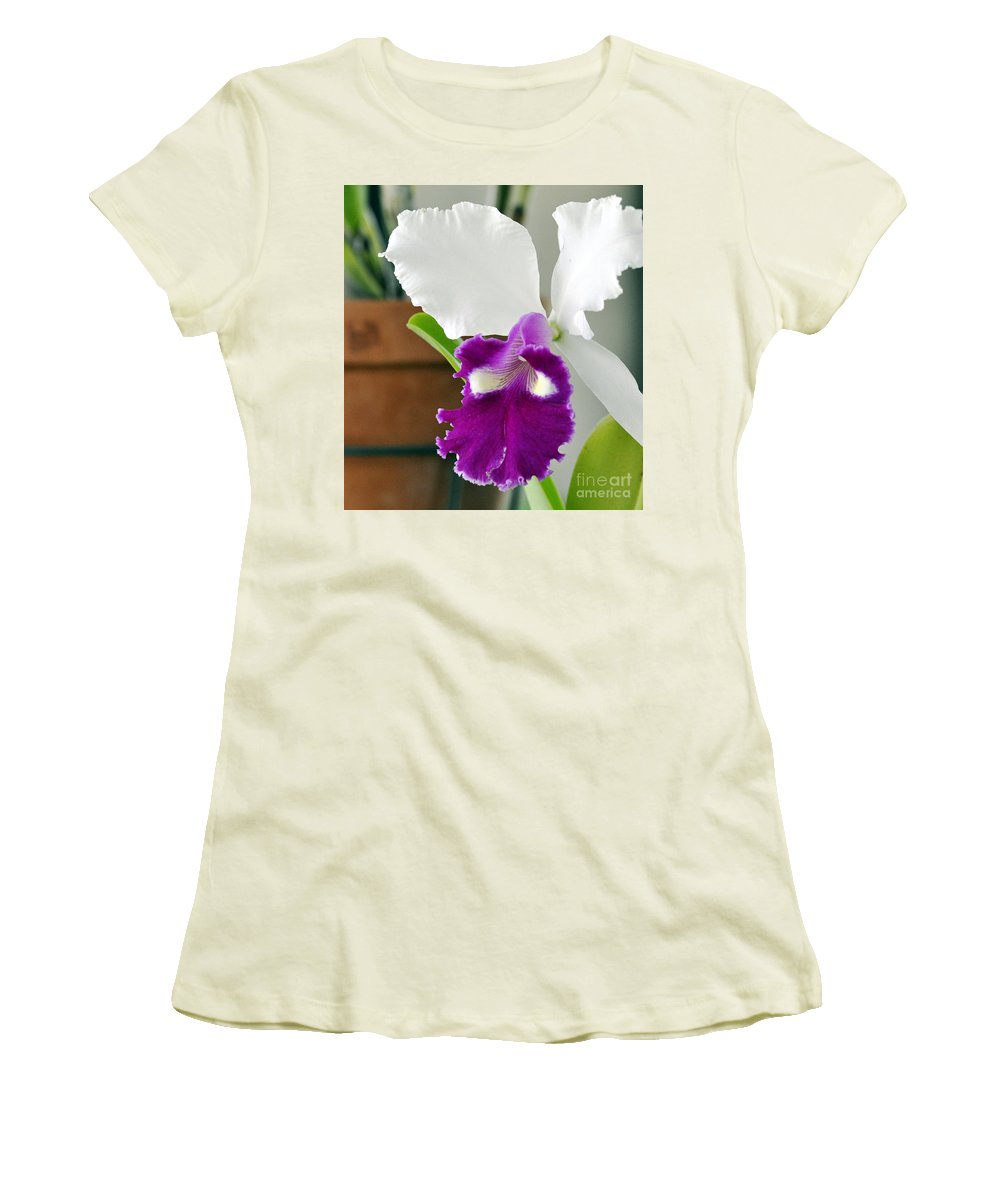 Clay Women's T-Shirt (Athletic Fit) featuring the photograph Smile by Clayton Bruster