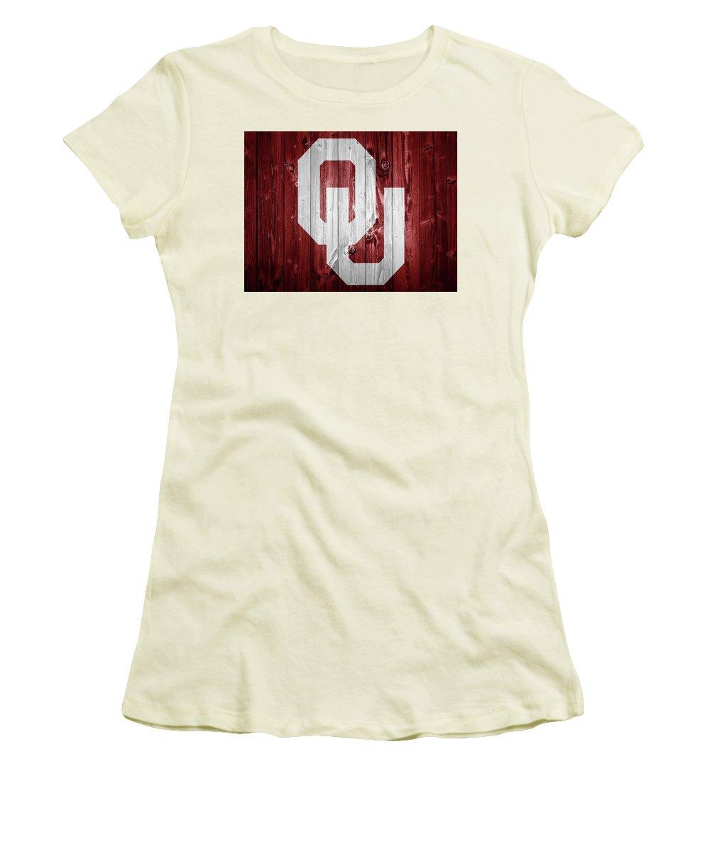 Oklahoma University Women's T-Shirts