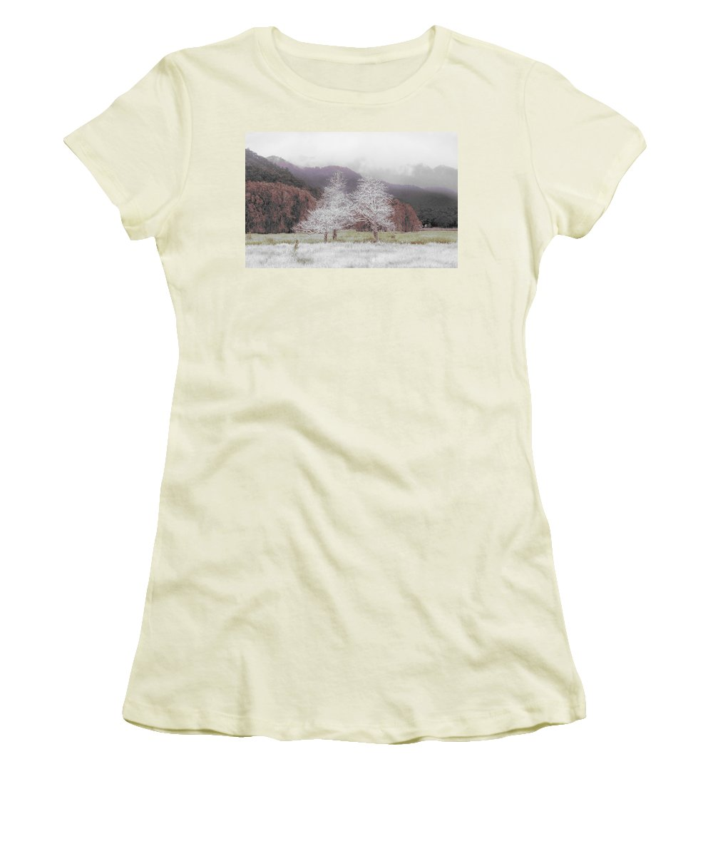 Landscape Women's T-Shirt (Athletic Fit) featuring the photograph Together We Stand by Holly Kempe