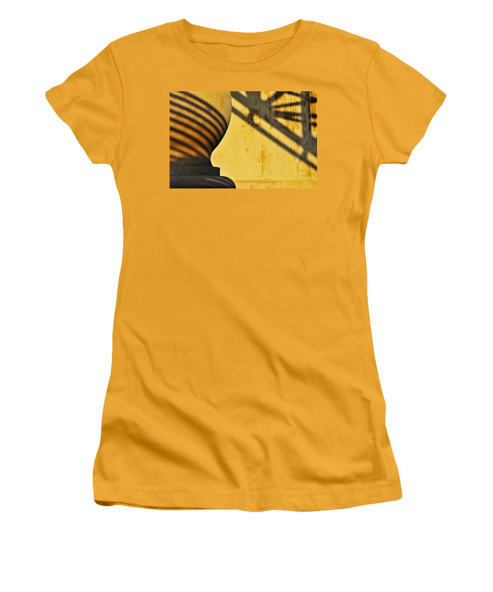 Architecture Women's T-Shirt (Athletic Fit) featuring the photograph Comb Over by Skip Hunt