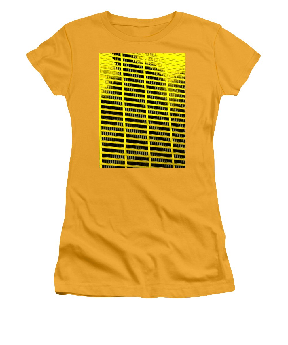 Office Women's T-Shirt (Athletic Fit) featuring the photograph Commerce by Ian MacDonald