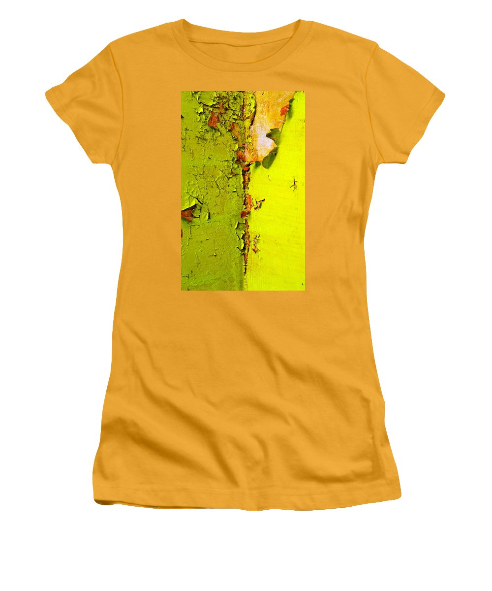 Skip Hunt Women's T-Shirt (Athletic Fit) featuring the photograph Going Green by Skip Hunt