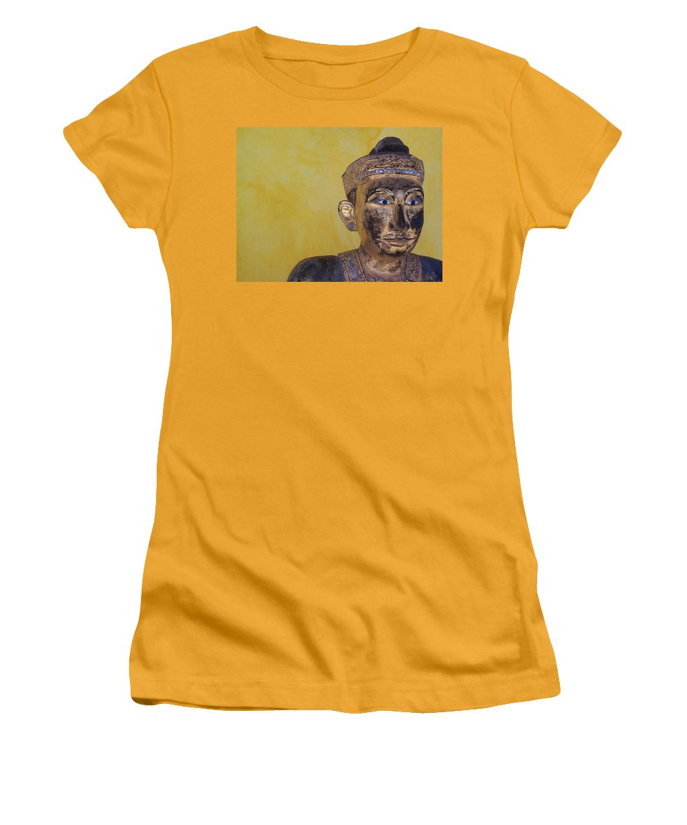 Charity Women's T-Shirt (Athletic Fit) featuring the photograph Statue by Mary-Lee Sanders