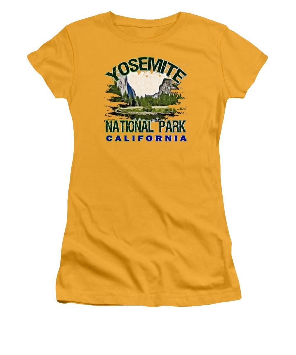Yosemite National Park Junior T-Shirts