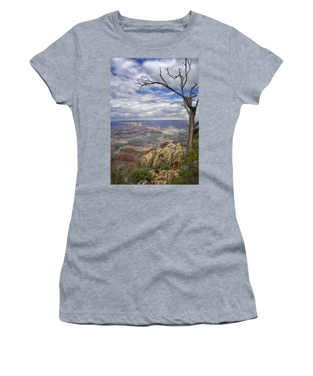 Awesome Women's T-Shirt (Athletic Fit) featuring the photograph Nature's Majesty by Claudio Bacinello