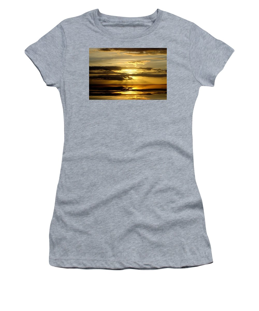 Original Women's T-Shirt (Athletic Fit) featuring the photograph Abstract 91 by J D Owen