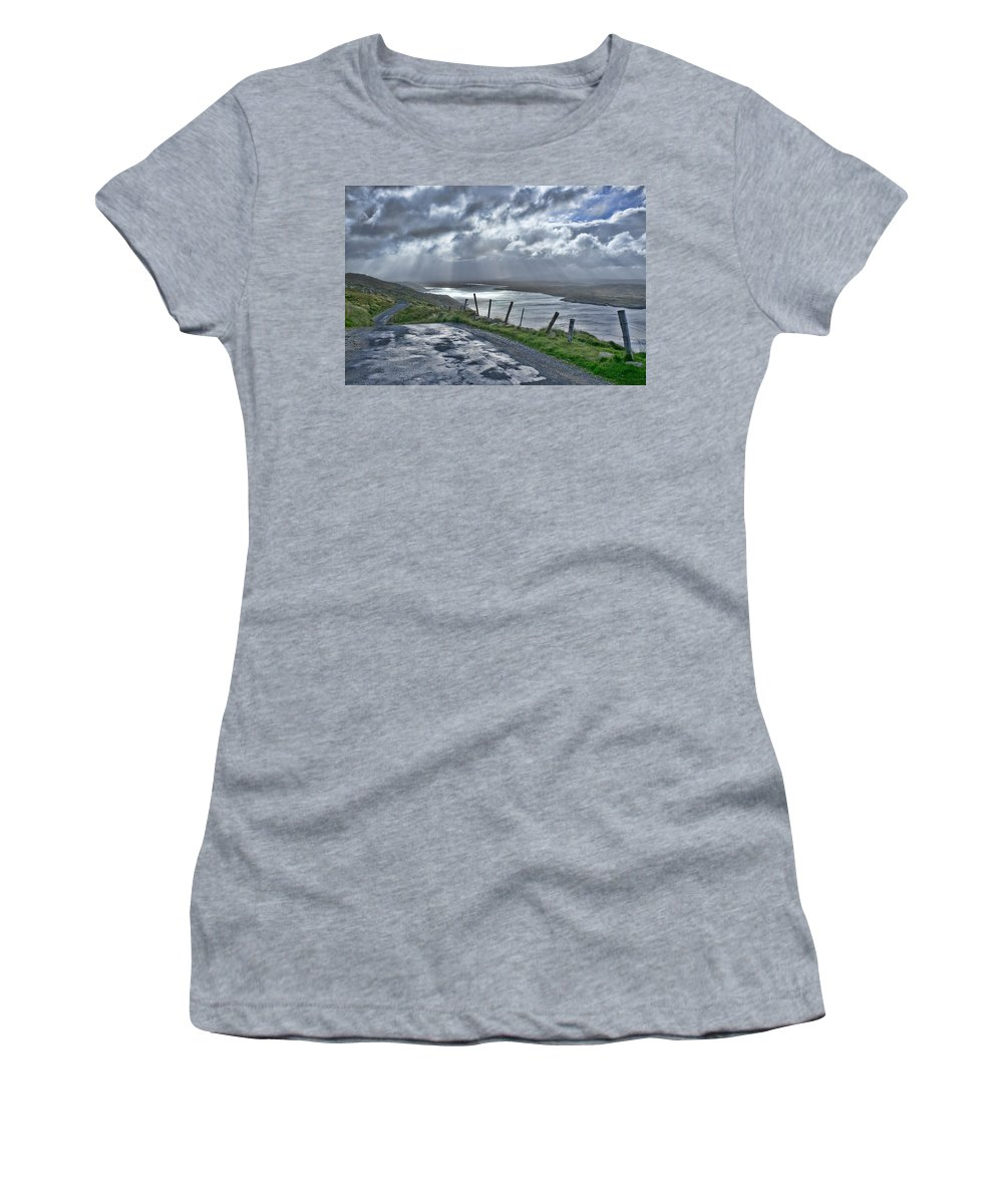 Rain Women's T-Shirt featuring the photograph After The Rain by Hugh Smith