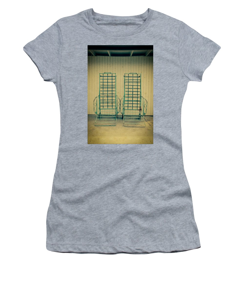 Personal Work Women's T-Shirt featuring the photograph Chaise Lounge by Yo Pedro
