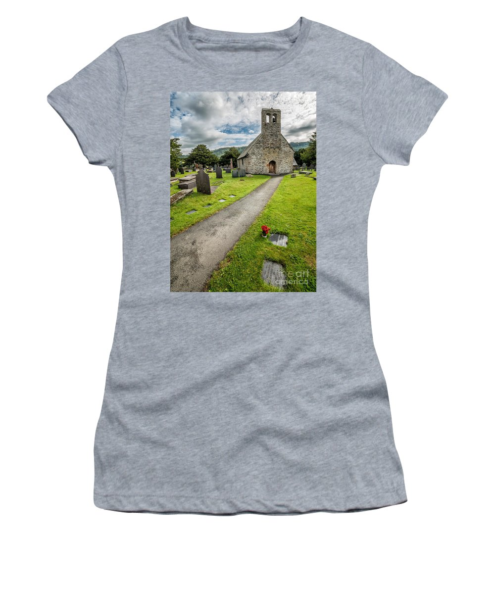 British Women's T-Shirt featuring the photograph Church Of St Mary by Adrian Evans