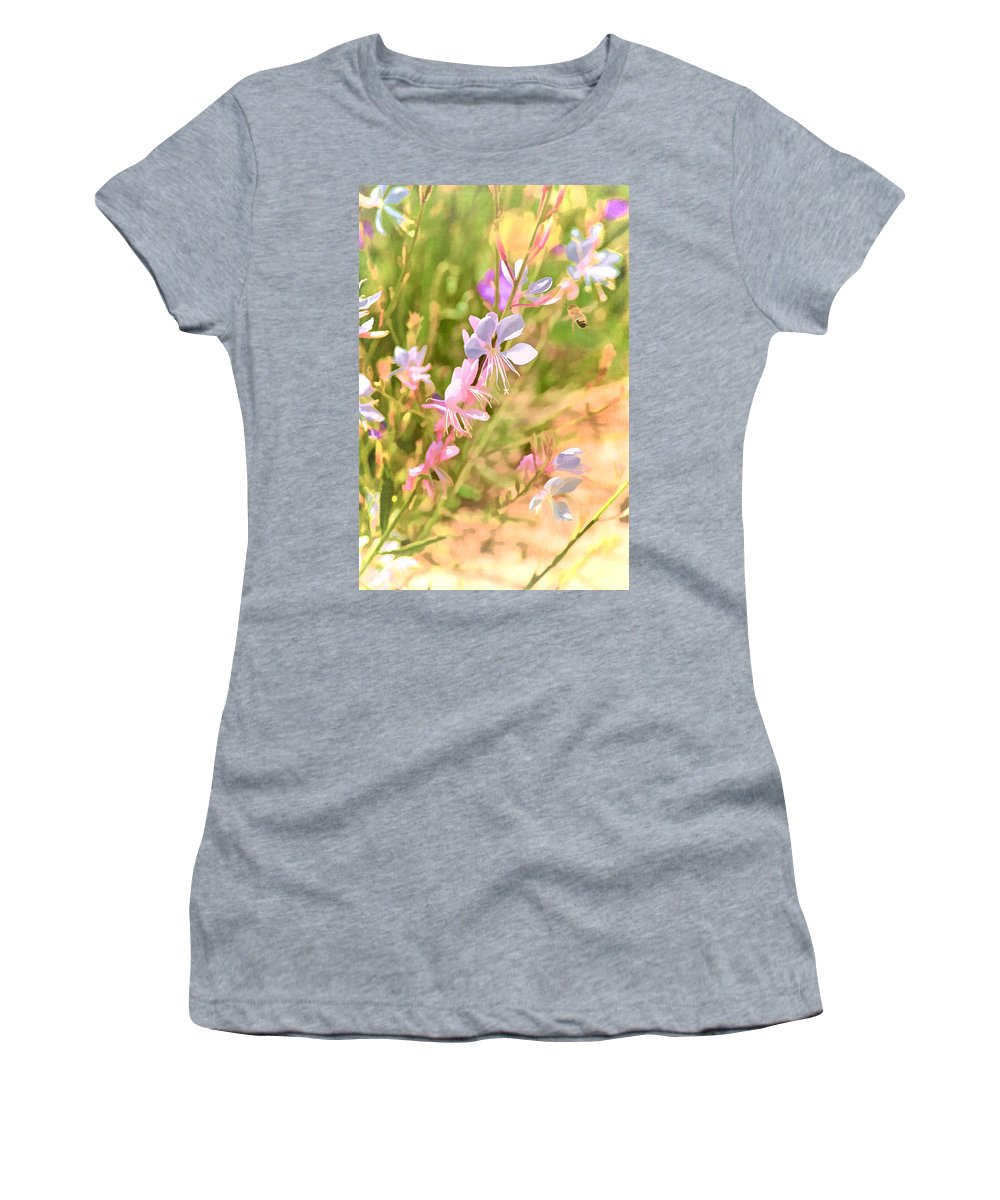 Floral Women's T-Shirt featuring the photograph Color 149 by Pamela Cooper