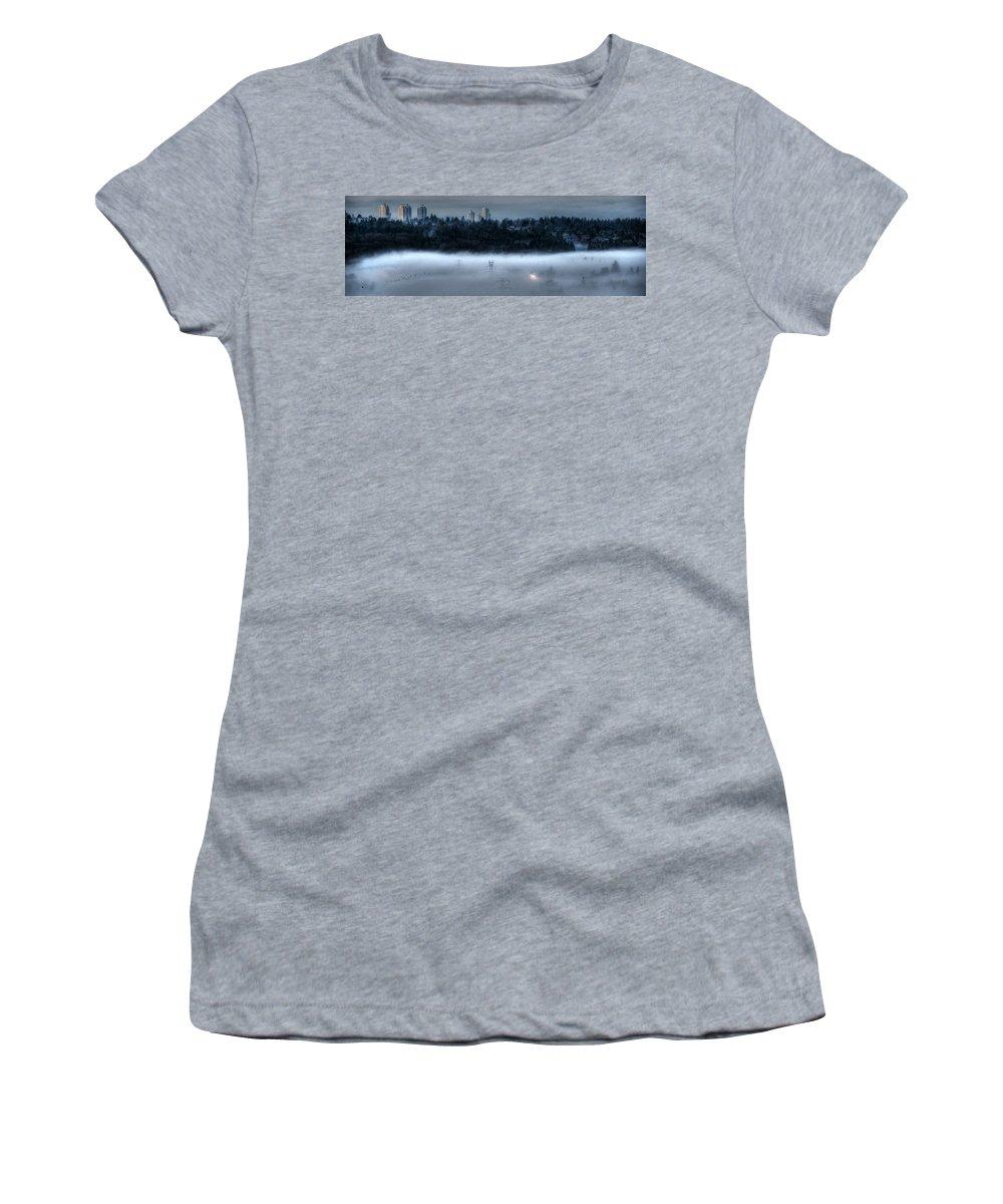 Lisa Knechtel Women's T-Shirt featuring the photograph End Times by Lisa Knechtel
