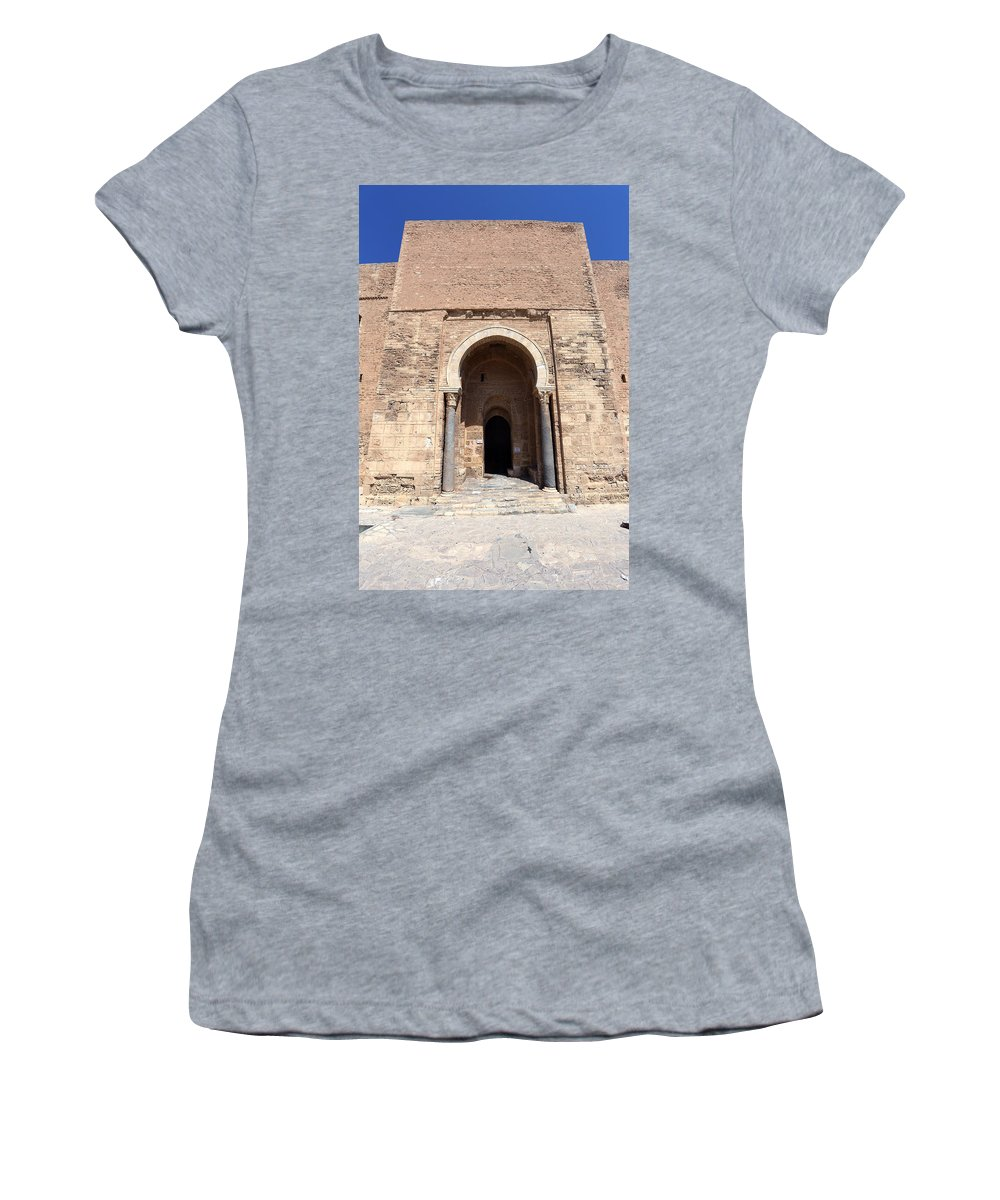 Tunisia Women's T-Shirt featuring the photograph Monastir Ribat by Paul Fell