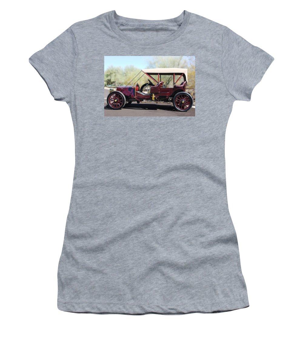 1907 Panhard Et Levassor Women's T-Shirt featuring the photograph 1907 Panhard Et Levassor by Jill Reger