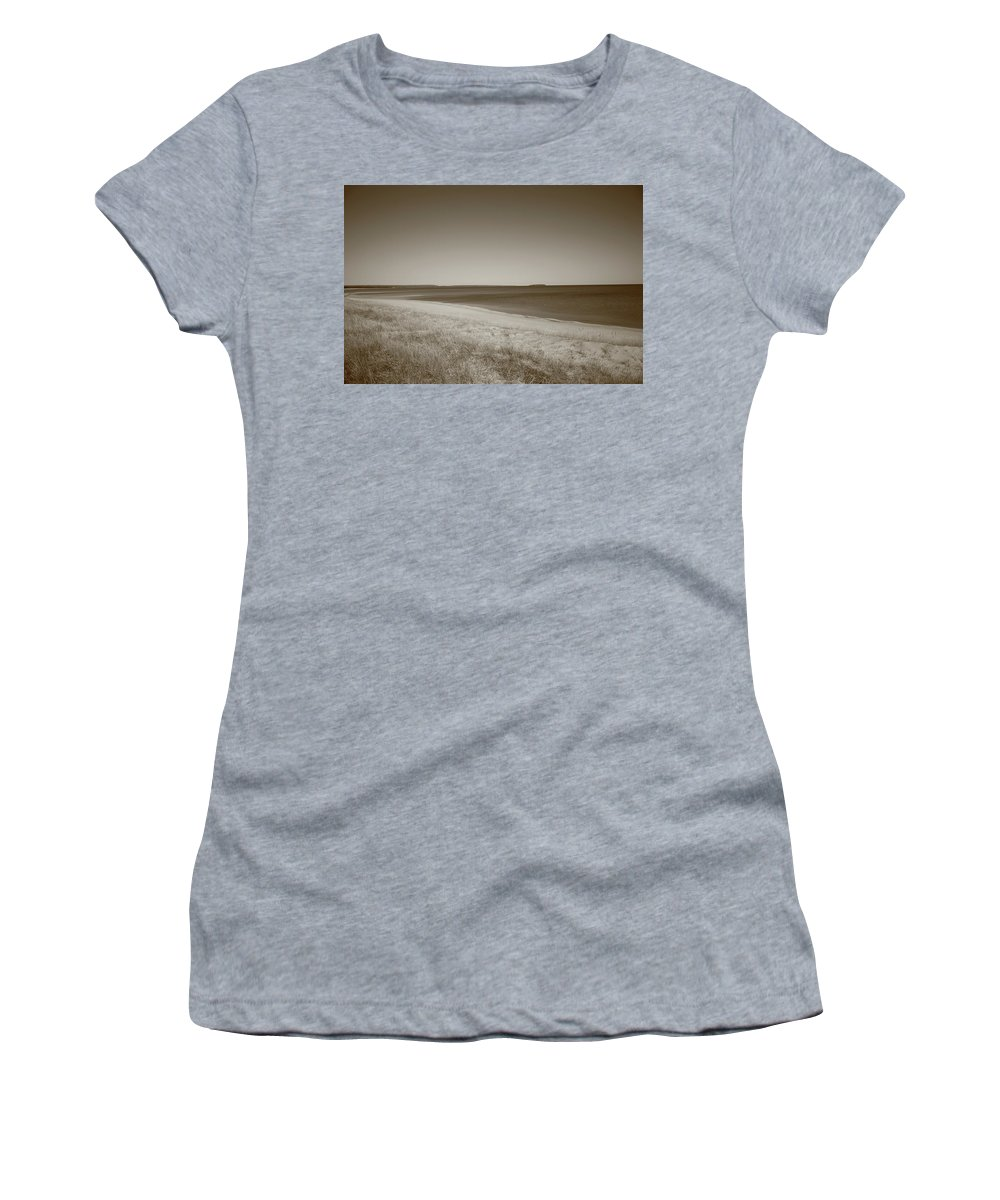 America Women's T-Shirt featuring the photograph Lake Superior by Frank Romeo