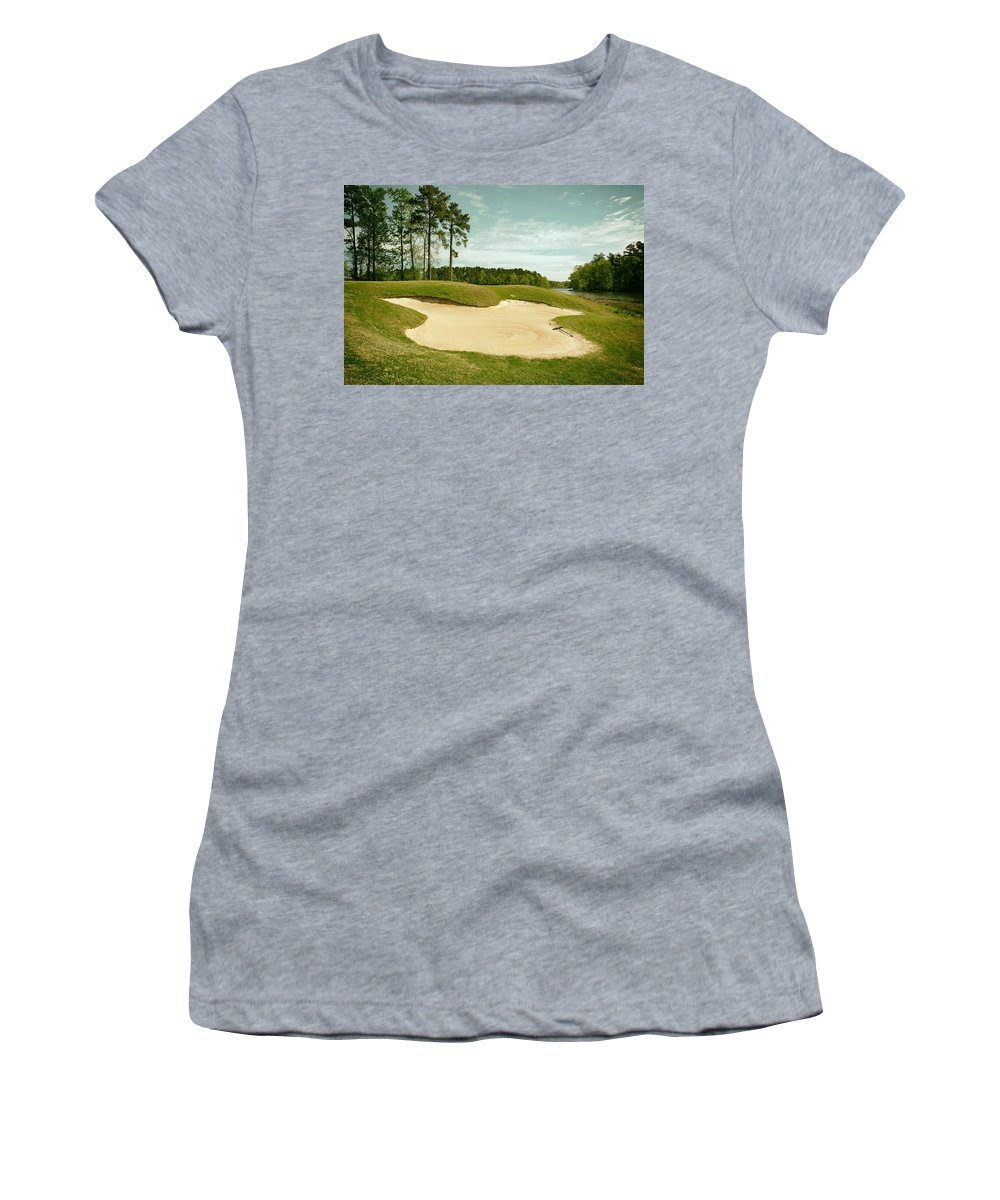 Opelika Women's T-Shirt featuring the photograph Grand National Golf Course - Opelika Alabama by Mountain Dreams