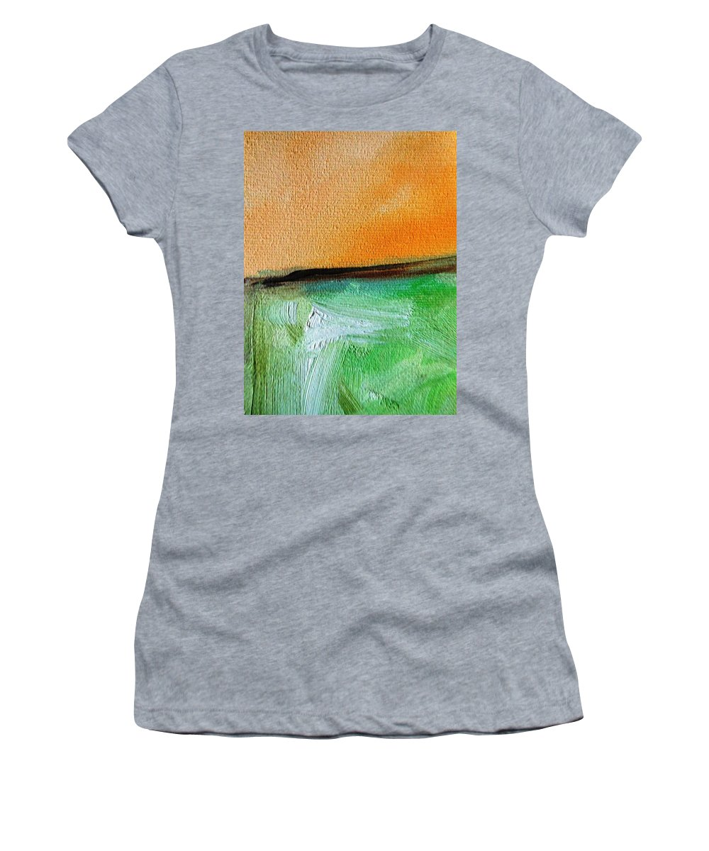 Paintings By Lyle Women's T-Shirt featuring the painting Lost by Lord Frederick Lyle Morris - Disabled Veteran