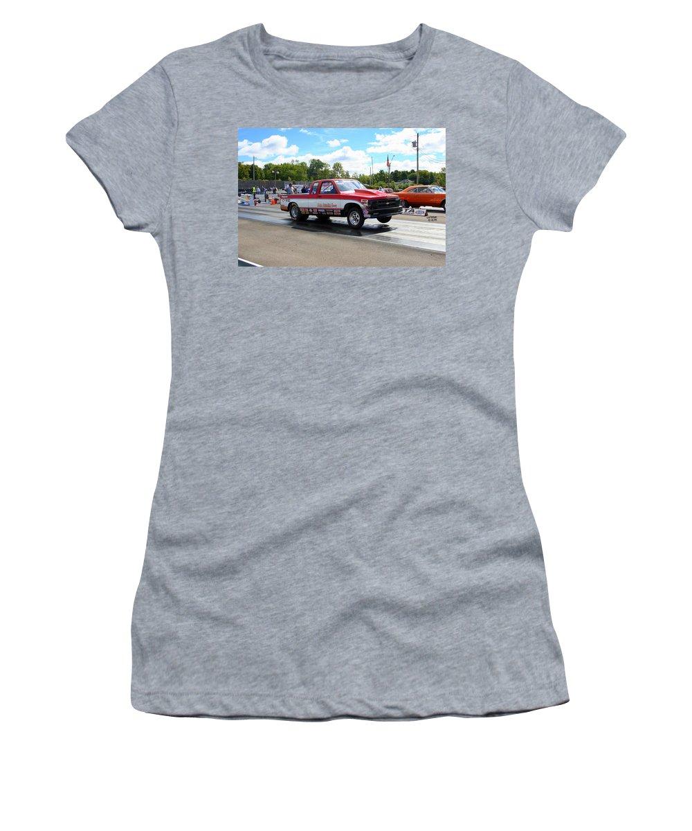 Esta Safety Park Women's T-Shirt (Athletic Fit) featuring the photograph Esta Safety Park 09-14-14 by Vicki Hopper
