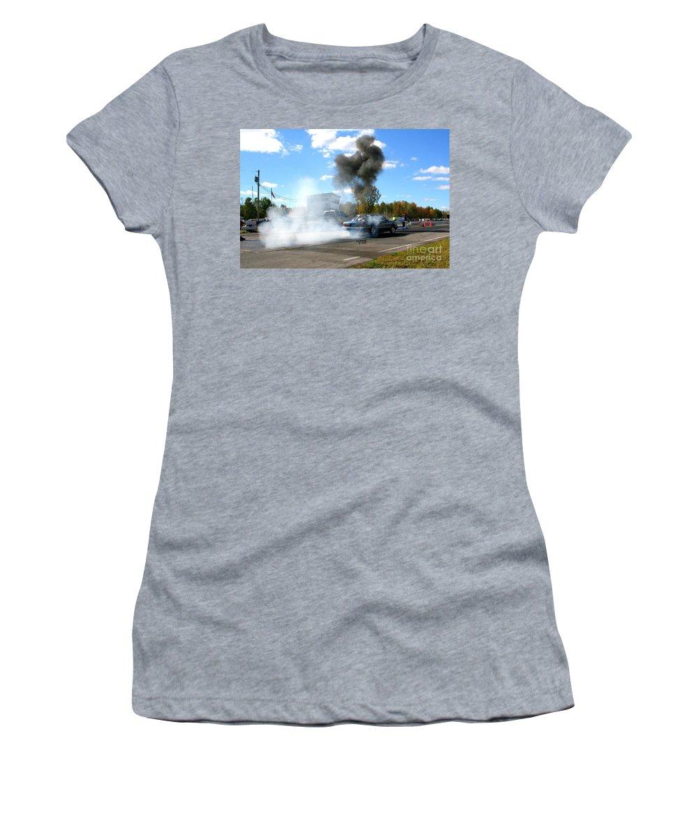 Esta Safety Park Women's T-Shirt featuring the photograph Esta Safety Park 10-12-14 by Vicki Hopper