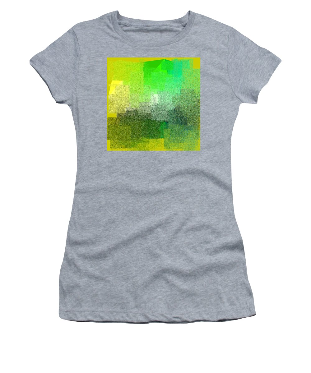Abstract Women's T-Shirt featuring the digital art 5120.5.19 by Gareth Lewis