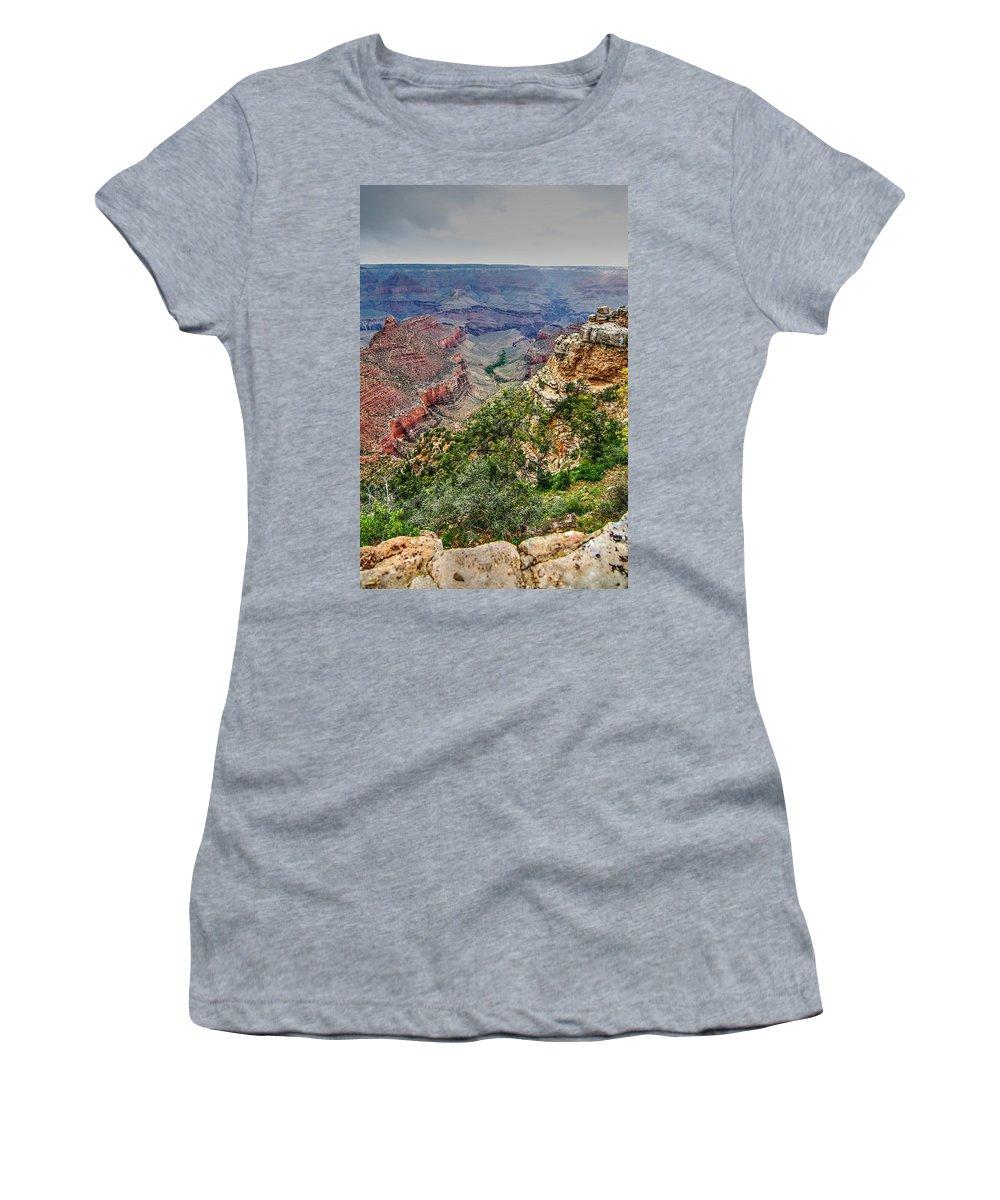 Grand Canyon Women's T-Shirt featuring the photograph Grand Canyon by Patrick Warneka