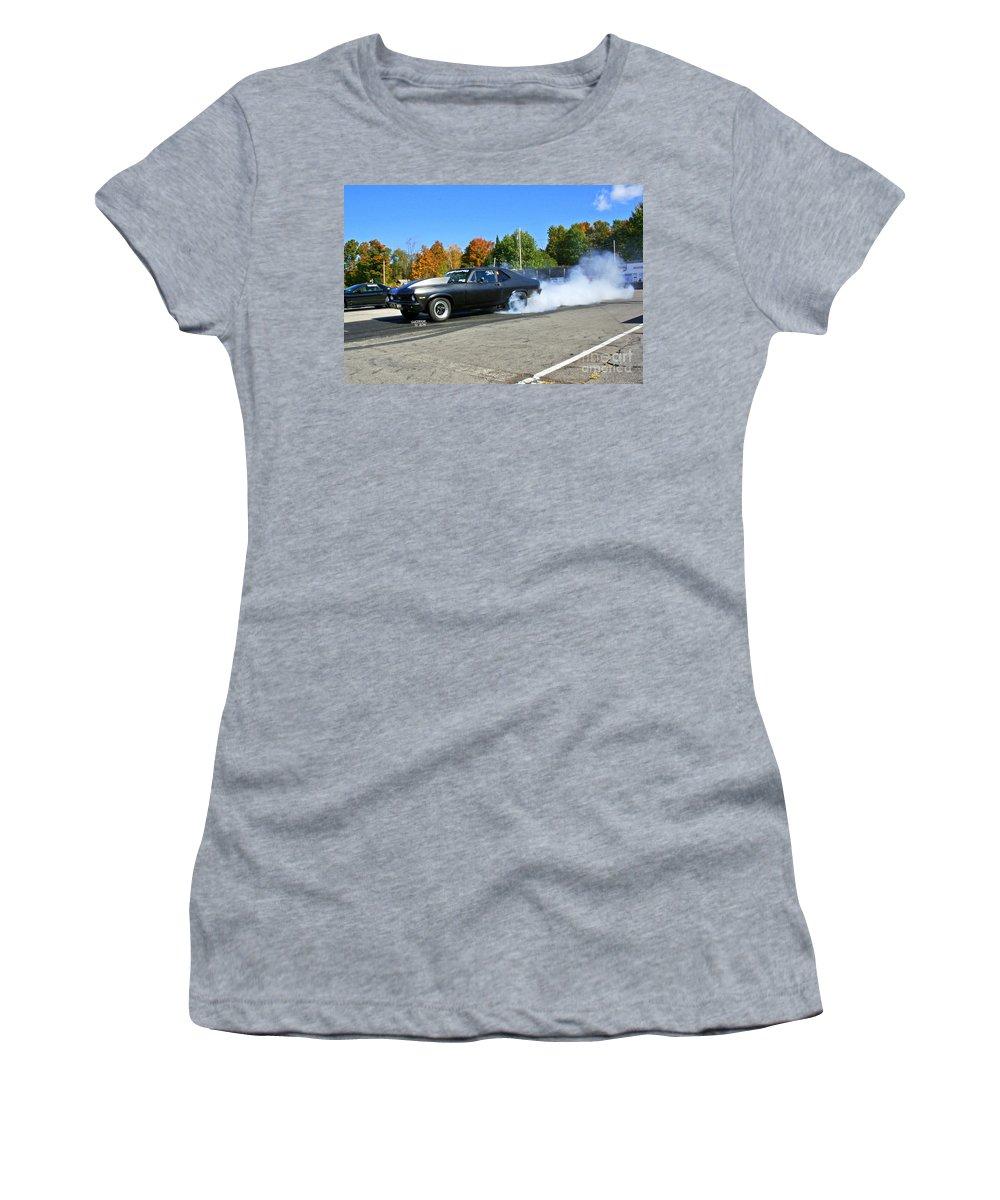 Esta Safety Park Women's T-Shirt (Athletic Fit) featuring the photograph Esta Safety Park 10-12-14 by Vicki Hopper