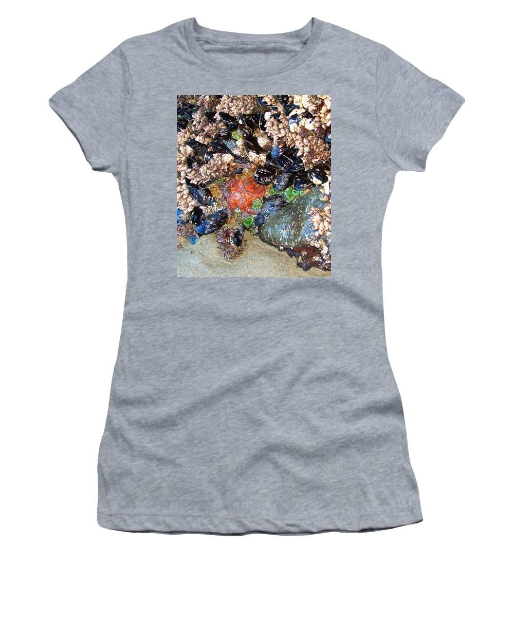Yachats Women's T-Shirt featuring the photograph Yachats Oregon by Image Takers Photography LLC