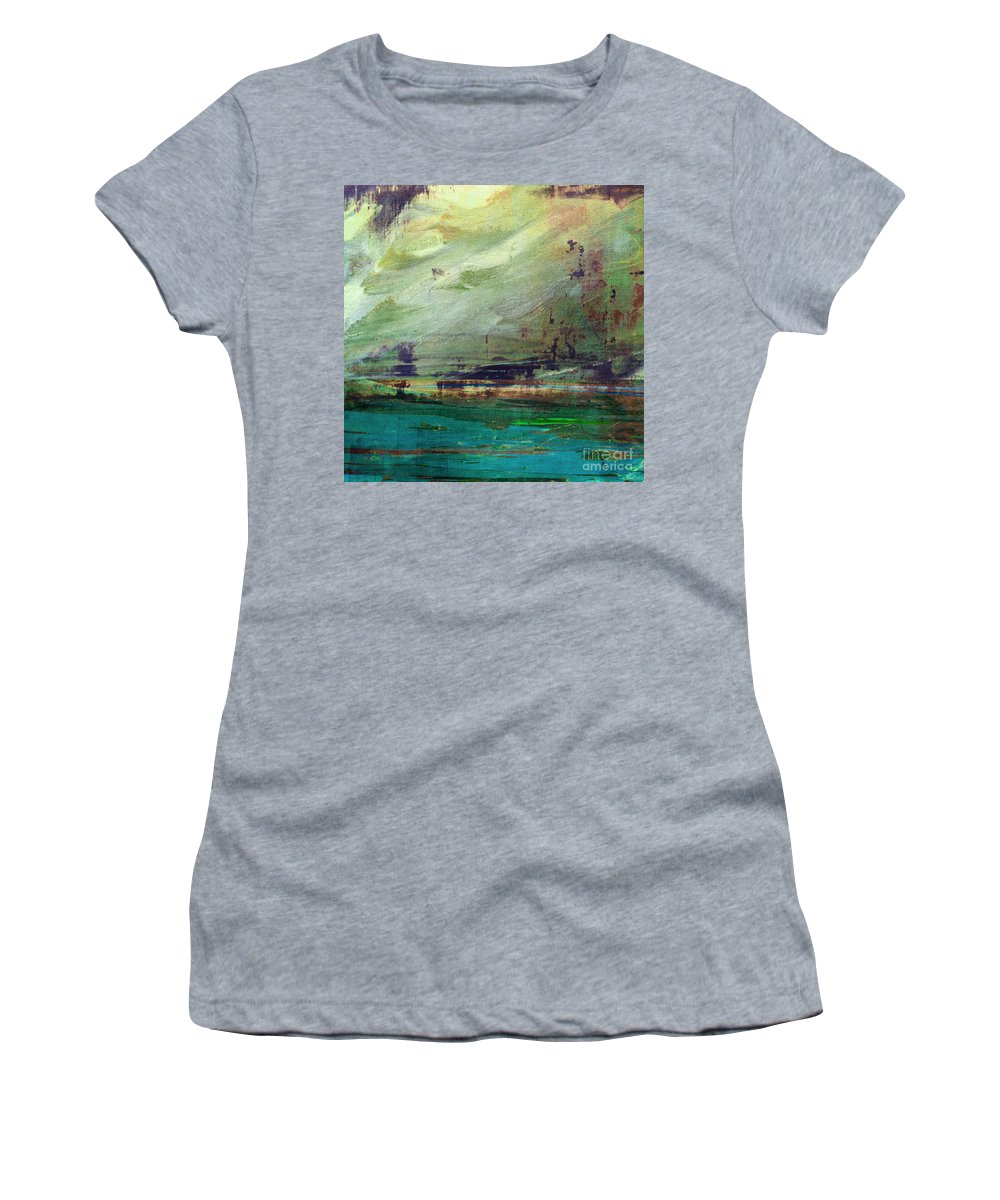 Abstract Women's T-Shirt featuring the digital art Abstract Print 4 by Filippo B