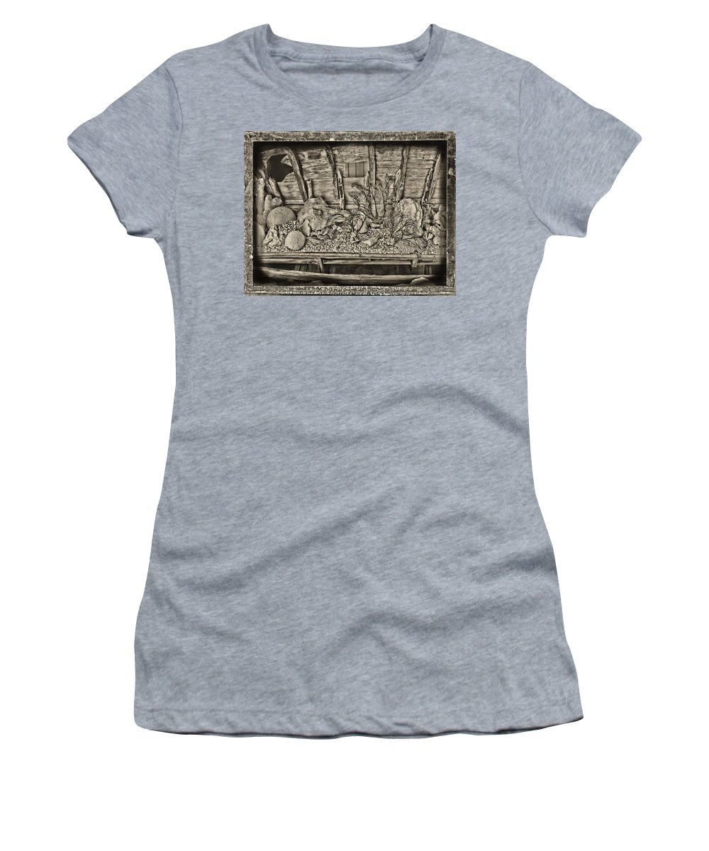 Coral Women's T-Shirt featuring the digital art Ancient by John Holfinger