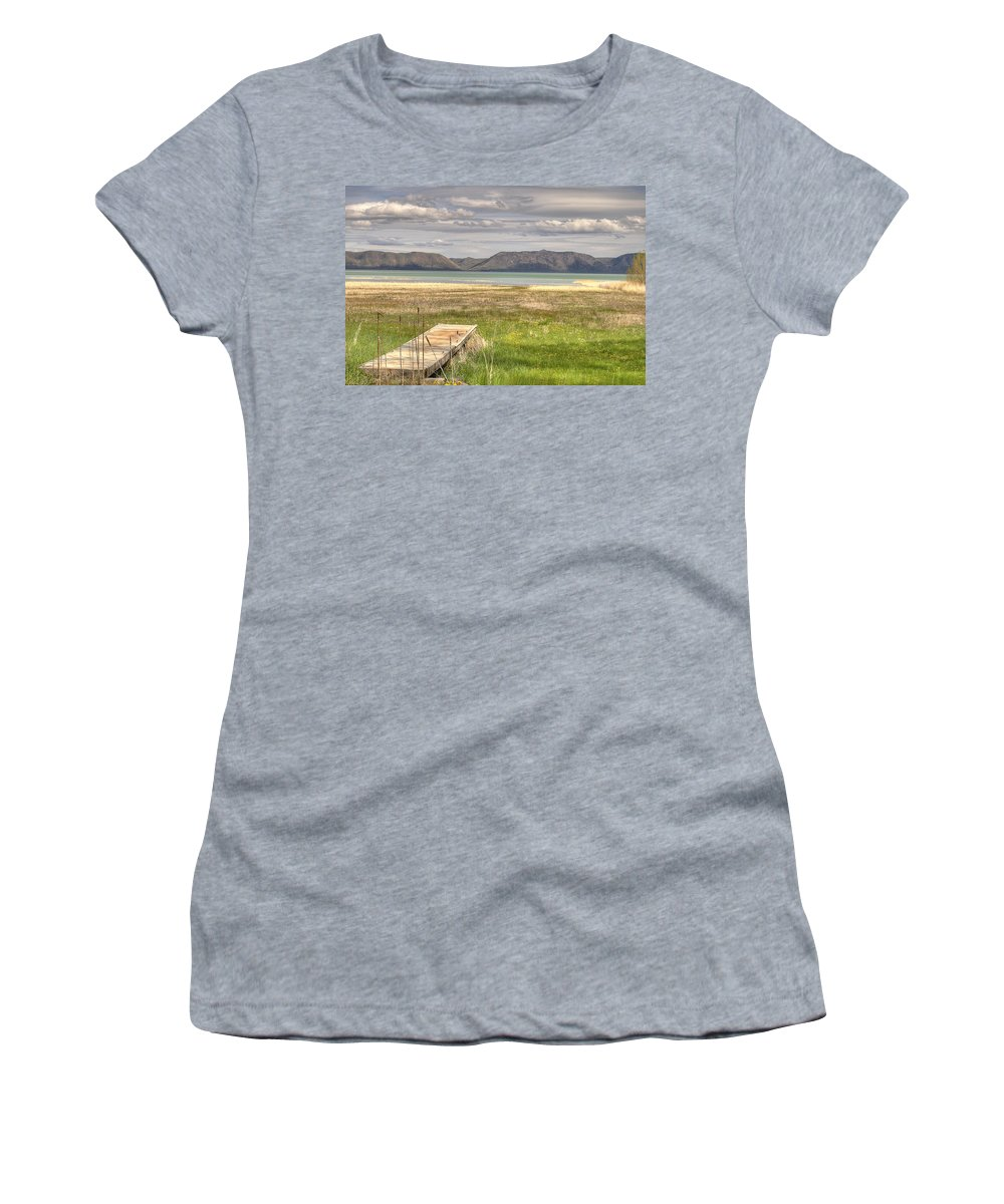 Bear Lake Women's T-Shirt featuring the photograph Bear Lake Paradise by Donna Doherty