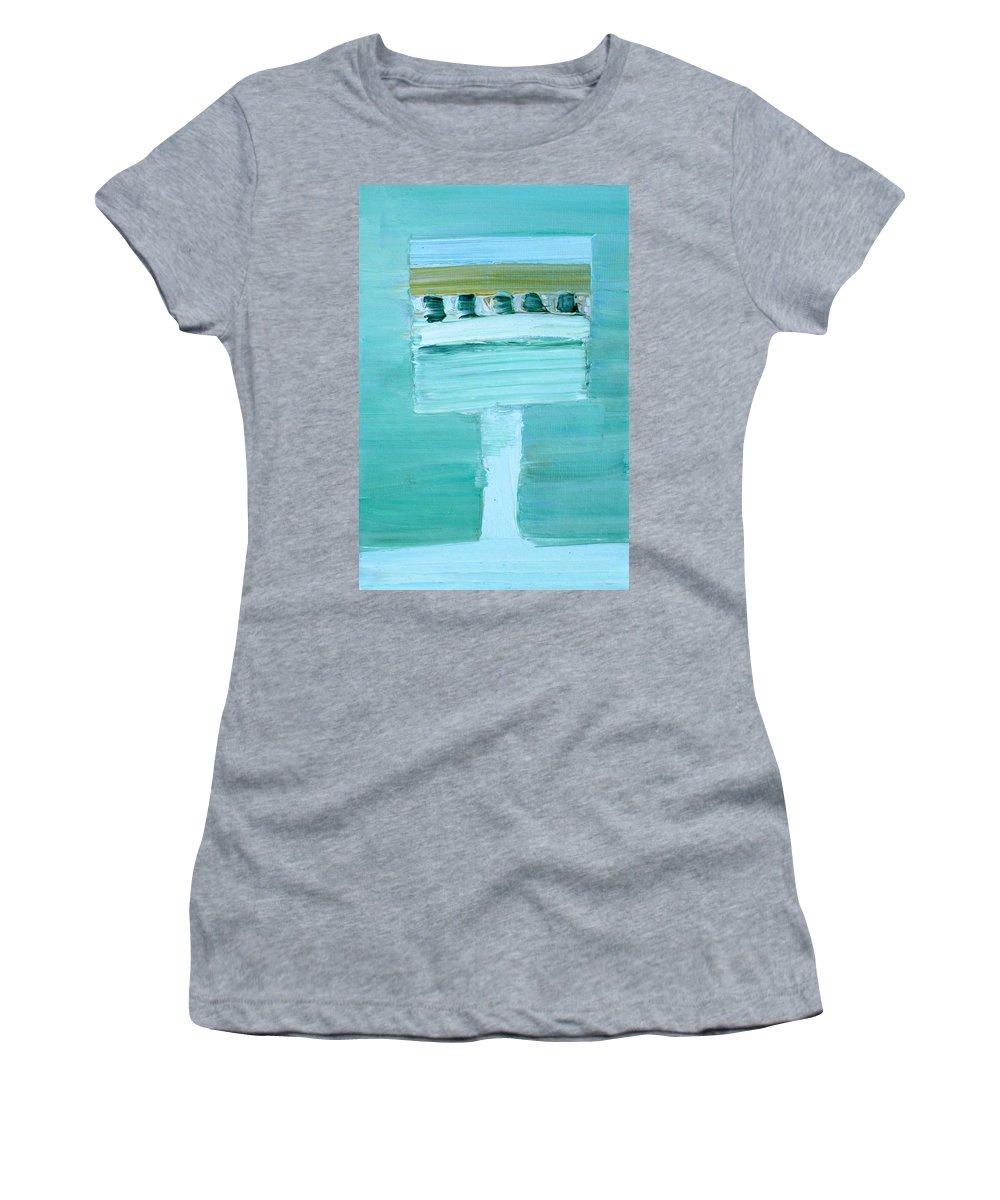 Birdhouse Women's T-Shirt featuring the painting Birdhouse by Fabrizio Cassetta