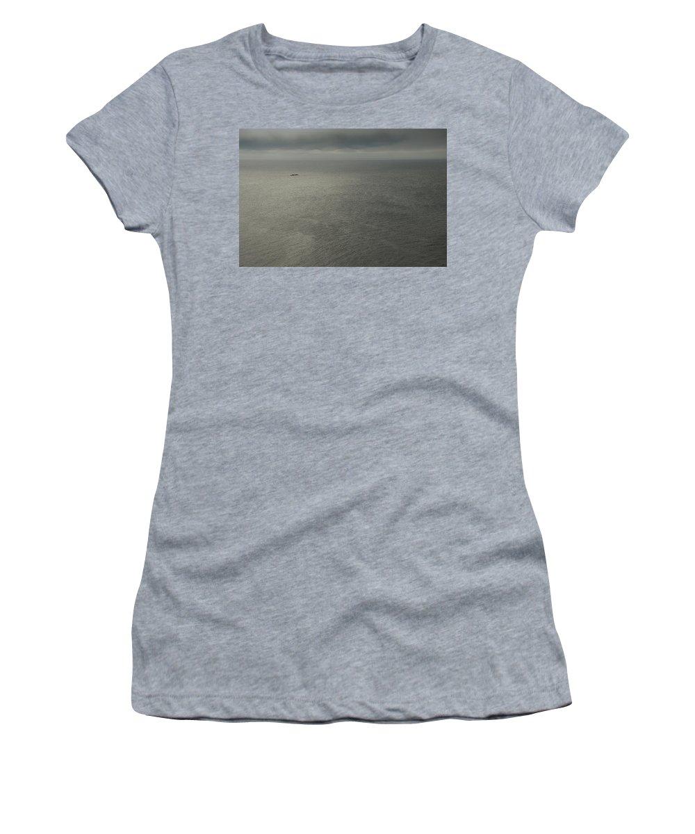 Newfoundland Women's T-Shirt featuring the photograph Bonavista Bay by David Stone
