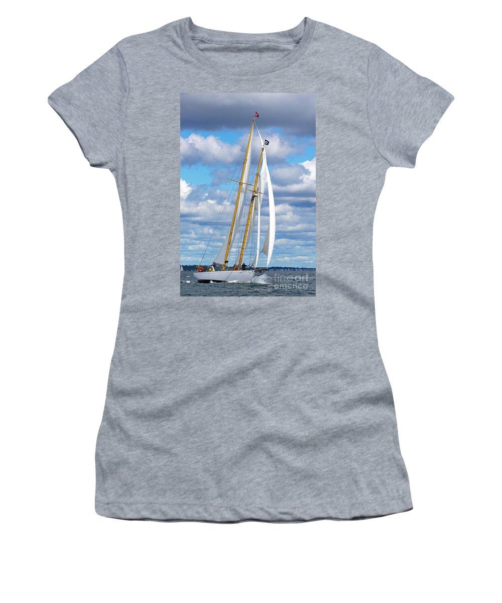 Sail Women's T-Shirt featuring the photograph Brilliant by Joe Geraci
