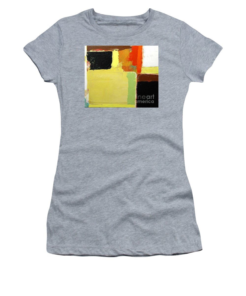 Landscape Women's T-Shirt featuring the painting Brisbane by Allan P Friedlander
