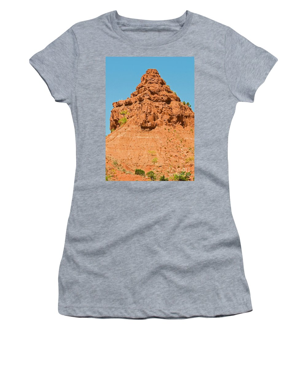 Nature Women's T-Shirt featuring the photograph Caprock Canyon State Park by Millard H. Sharp