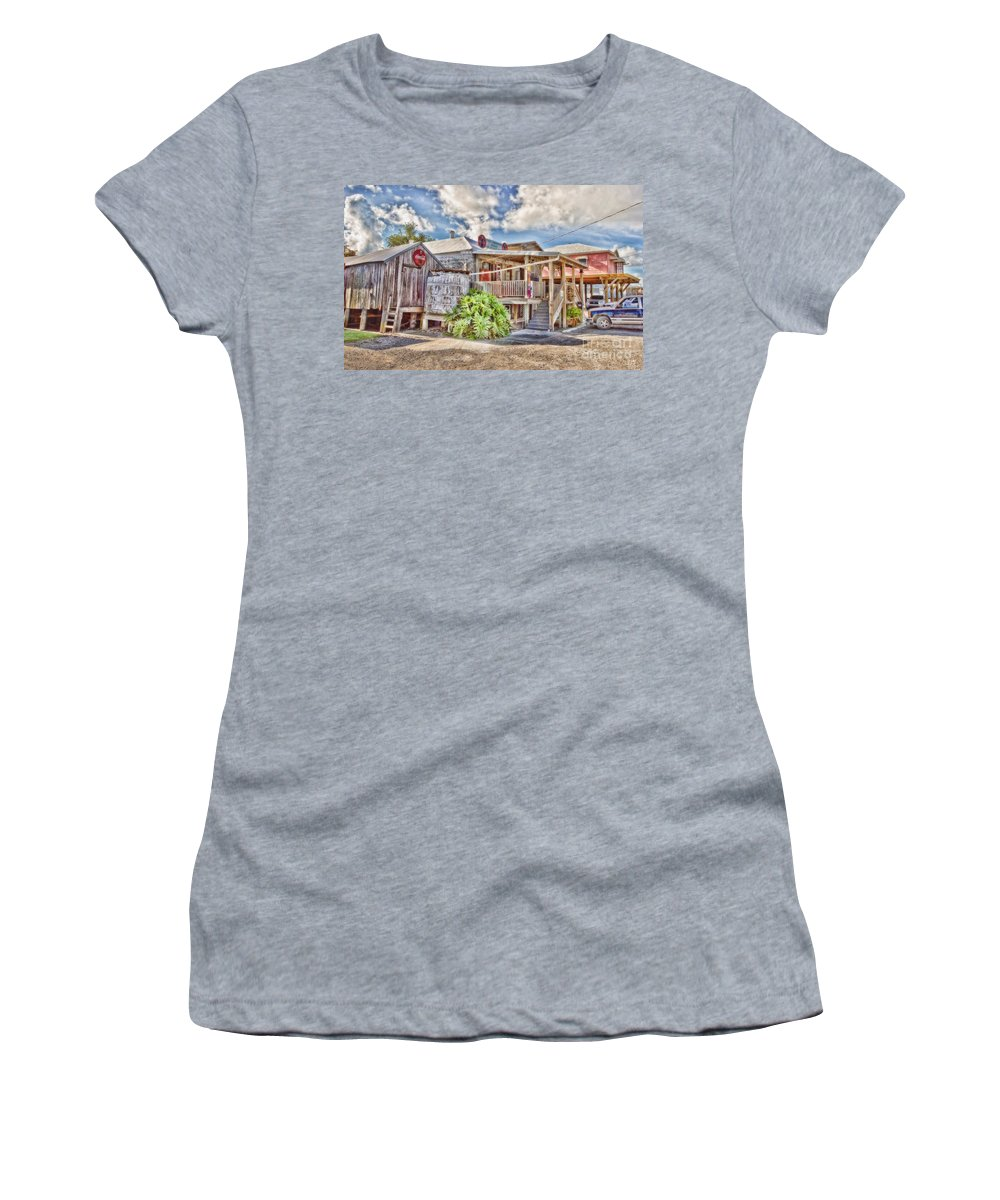 Grocery Store Women's T-Shirt featuring the photograph Cecil's Grocery by Scott Pellegrin