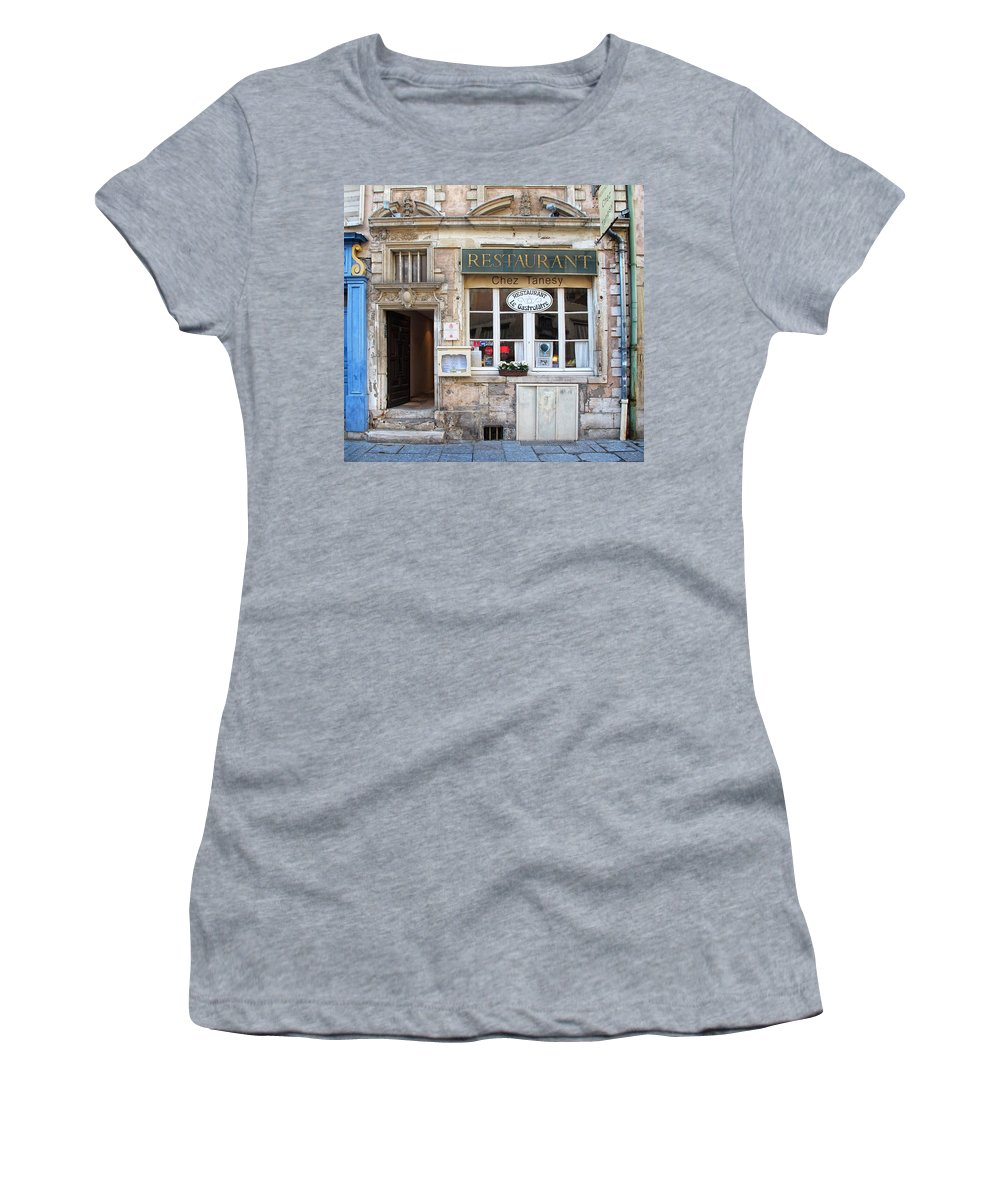 Chez Tanesy Women's T-Shirt (Athletic Fit) featuring the photograph Chez Tanesy by Dave Mills